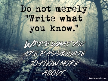 write-what-you-are-passionate-to-know-about